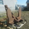 1942 US Navy anchor.. 8000 lbs.