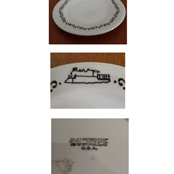 Railroad Plates - China and Dinnerware