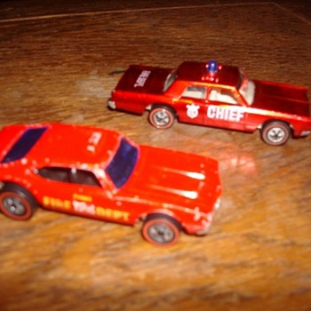 Redline Hot Wheels - Fire Chief