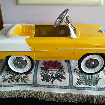 1955 Chevy Convertible pedal Car