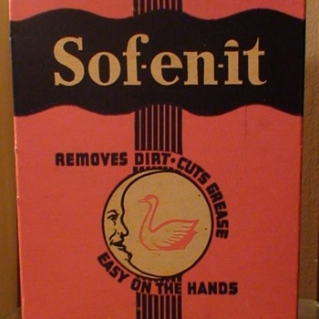 Sof-en-it By The Moon-shine Chemical Company Pittsburgh, PA