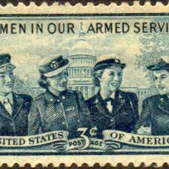 "1952 - ""Women in Our Armed Forces"" Postage Stamp (US) - Stamps"