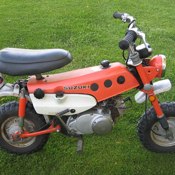 1971 Suzuki MT50 TrailHopper - Motorcycles