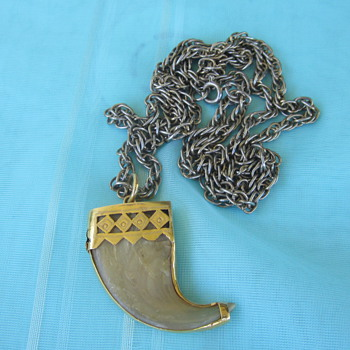 Tiger Claw Pendent 