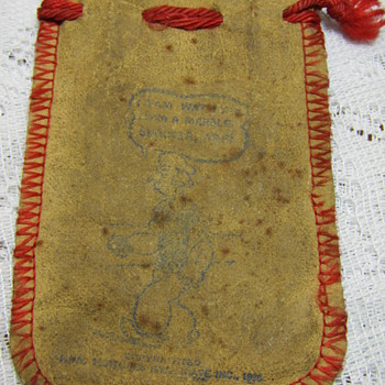 1935 Popeye Marble Bag