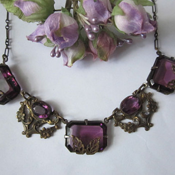 Beautiful Amethyst Necklace - Fine Jewelry
