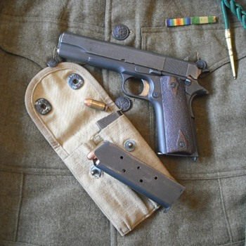 Colt Model 1911 Pistol - Military and Wartime