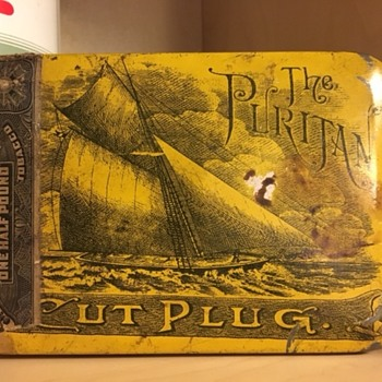 The Puritan Cut Plug/ 1910 circa
