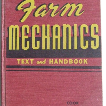 1949 Farm Mechanics Text and Handbook  - Books