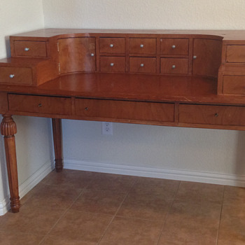Vintage Writing Desk - Furniture