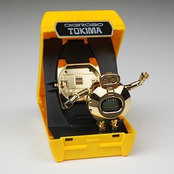 Tokima DigiRobo Watch (original 1983 model) - Wristwatches