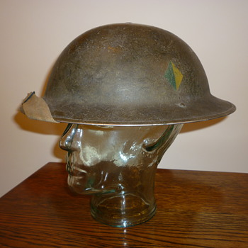 British WWII Reconnaissance Corps steel helmet - Military and Wartime