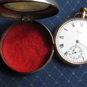 Revd Thomas Greenall Swindell's 1913 Waltham/Dennison Marquis  - Pocket Watches