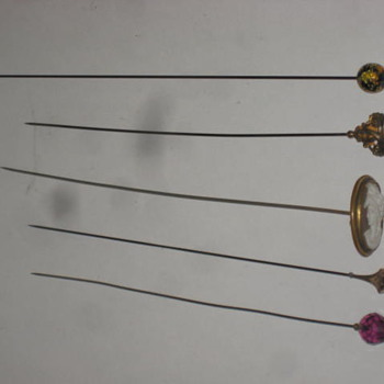 Hat Pins Old - Fine Jewelry
