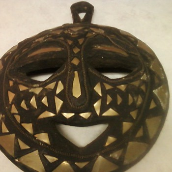 FOLK ART MASK