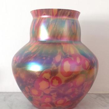 Kralik Iris millefiore vase