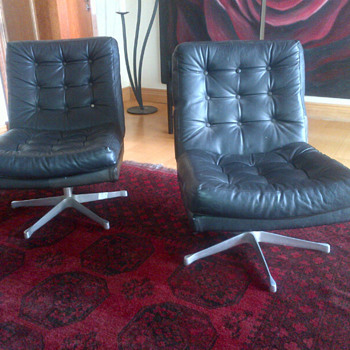 Seventies type swivel chairs - Furniture