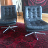 Seventies type swivel chairs