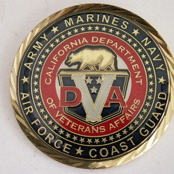 Veterans Challenge Coin - Military and Wartime