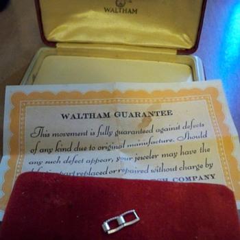 Vintage Watch case....25 cents yard sale
