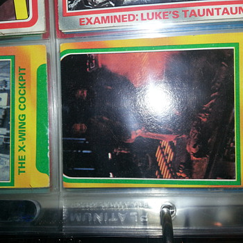 2 misprinted Star Wars Cards from the 1980 &quot;The Empire Strikes Back&quot;
