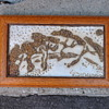 Mystery Danish? Signed Ceramic Plaque signed by Anne Stark