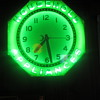 8 sided Household appliances neon clock