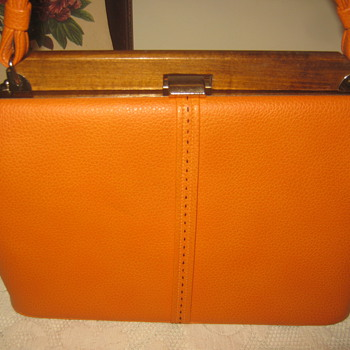 Vintage Kelly Style Bag 1950s-1960s