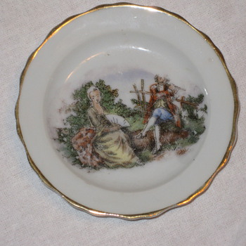 Mini-saucer from auction - China and Dinnerware