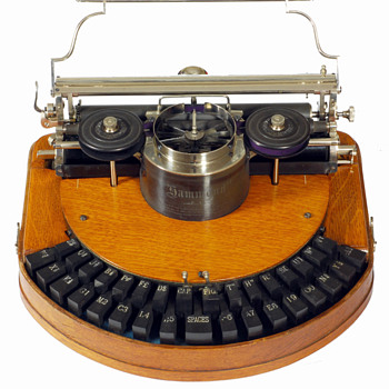 Hammond 1 typewriter - 1885 - Office