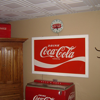 My coke corner!