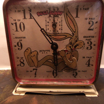 Ingraham Bugs Bunny Alarm Clock