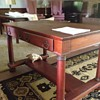 Fond Memories of old cherry wood Library Table