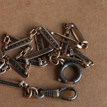 Antique silver chains