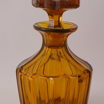 Amber Decanter - Bottles