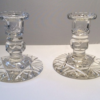 Antique/ vintage candlesticks