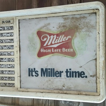 Miller High Life Sign - Breweriana