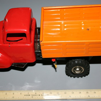 Birkenkamp & Schleuter W/U dump truck w/ box 1952 - Model Cars