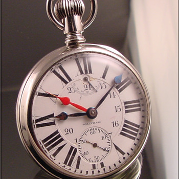 Waltham 23-Jewel Vanguard Pocket Watch