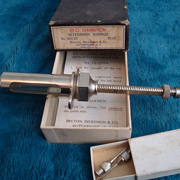 Veterinary Syringe