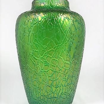 "Loetz Crete ""Mimosa"" ca. 1907  - Art Glass"
