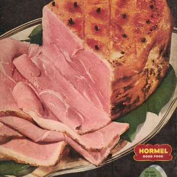 1951 - Hormel Ham Advertisement