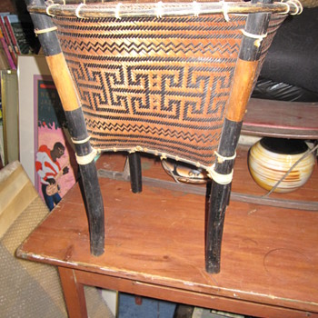 Native American Storage Basket Chocktaw or Cherokee Mystery - Native American