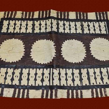 Tapa Cloth 3 Peces
