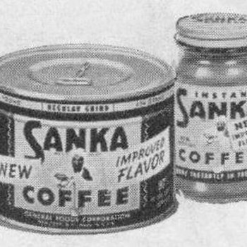 1953 - Sanka Coffee Advertisements - Advertising