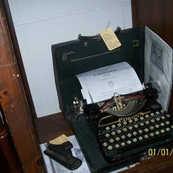 1924 Smith Corona No. 4 - Office