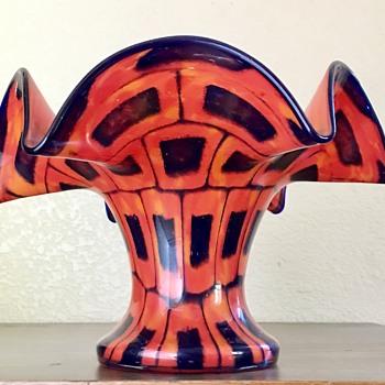 "Kralik (or Ruckl) - Powder decor ""bricks"" - Art Glass"