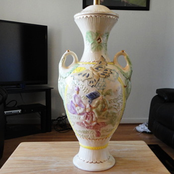 porcelain chinese lamp