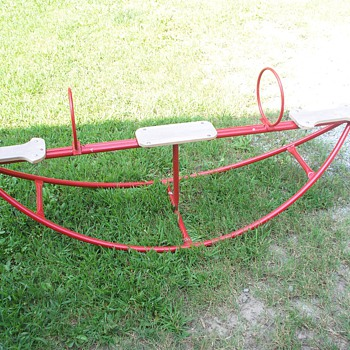 Old See Saw  (teeter totter)