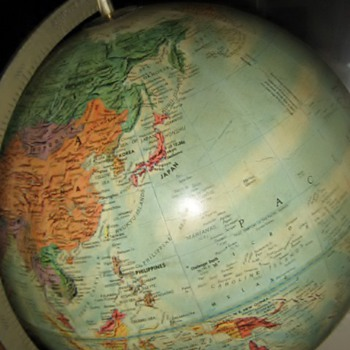 cool old 1960's globe - Accessories